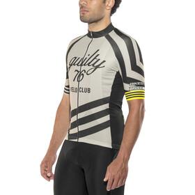 guilty 76 racing Velo Club Pro Race Maillot de cyclisme Homme, grey
